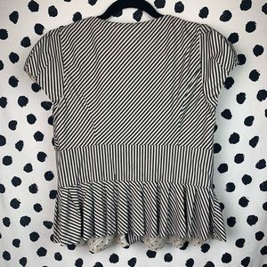 Anthropologie Tops - Anthropologie Taikonhu Striped Button Front Top
